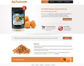 #13 for Graphic Design - Redesign FRONT PAGE Only - apricotseeds.co.nz website by Pavithranmm