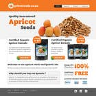 Entry # 25 for Graphic Design - Redesign FRONT PAGE Only - apricotseeds.co.nz website by