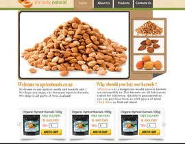 #34 untuk Graphic Design - Redesign FRONT PAGE Only - apricotseeds.co.nz website oleh samar09