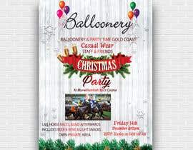 Nro 5 kilpailuun Balloonery Christmas Party käyttäjältä hridoyghf