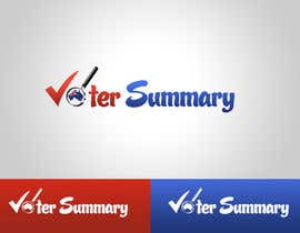 #1 for Logo Design for Voter Summary by logodancer