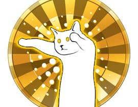 PhilXZ tarafından Create a Logo for the Crypto Currency 'LongCatCoin' için no 11