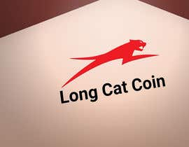 #40 for Create a Logo for the Crypto Currency 'LongCatCoin' by dewannasiruddin
