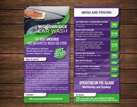 nº 13 pour CAR WASH BROCHURE par claudiadebsas