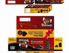 #68 for Create a Christmas Packaging Design for brownies af virtualarte