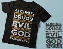 #34 for Christian  Recovery Program Trendy T Shirts by Exer1976