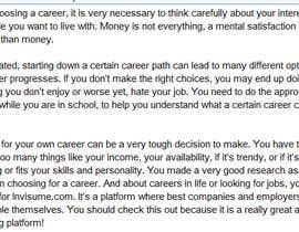 #1 for Best Career Choice Suggestion by ganeshrasekar