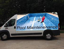 #12 for design for pool maintenance/advertising on car meredes Vito by misschondromukhi