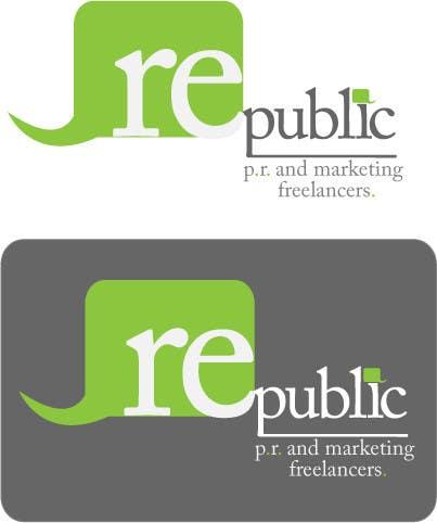 Конкурсная заявка №107 для Logo Design for Re:public (PR and Marketing Freelancers)