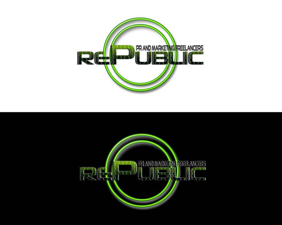 Конкурсная заявка №77 для Logo Design for Re:public (PR and Marketing Freelancers)