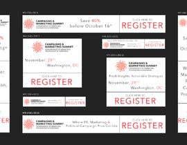 Nro 27 kilpailuun Design Web Ads for a Conference käyttäjältä crazyyeditor