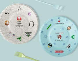 #11 for Design plates, cups, napkins for party supplies - Gaming theme by c0d3rPK