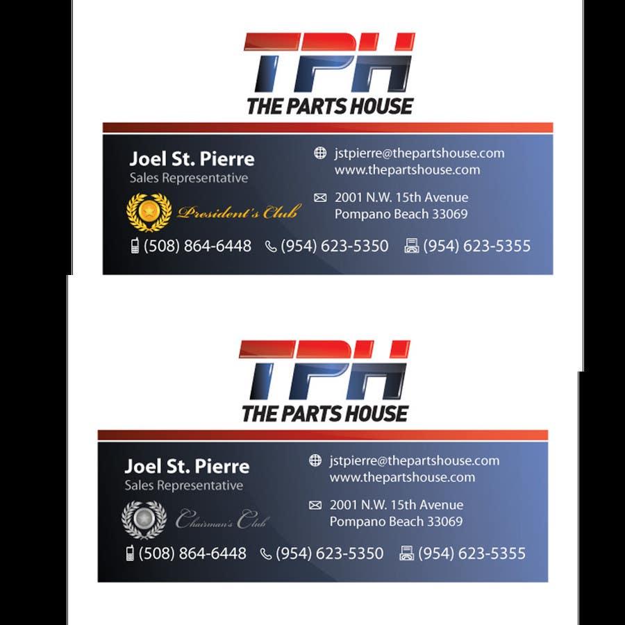 Penyertaan Peraduan #41 untuk Graphic Design for The Parts House
