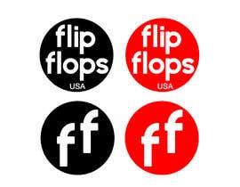 #191 untuk Quick LOGO for flip flop website oleh santiagotrevio