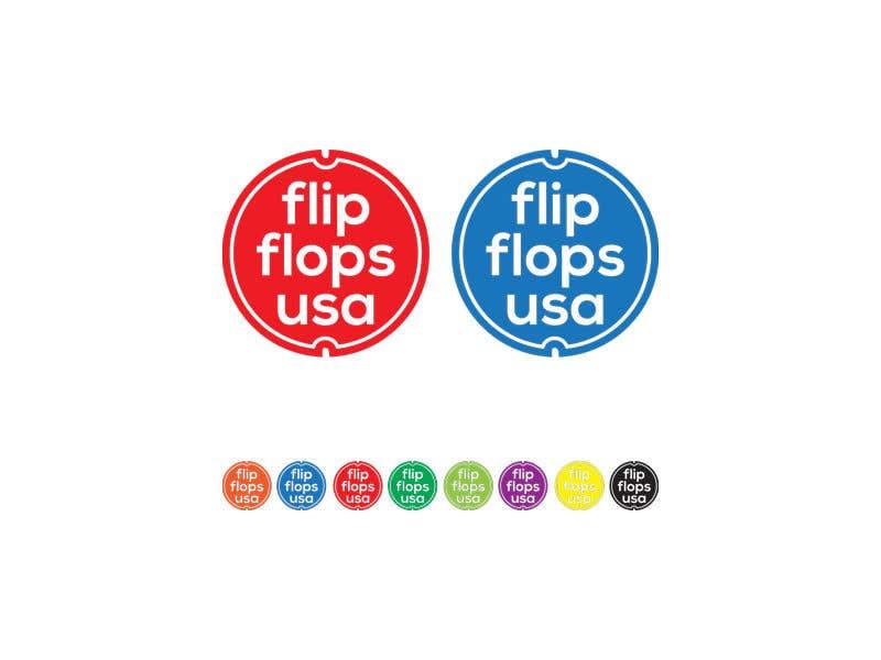 Penyertaan Peraduan #226 untuk Quick LOGO for flip flop website