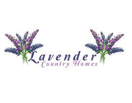 "nº 140 pour LOGO for sign- ""Lavender Country Homes"" par michelljagec"