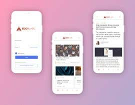 #18 for Design a mobile PWA version of desktop website af Montassar0