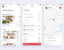 nº 29 pour Design a Delivery App similar to UberEATS par kingbodonit