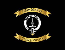#14 for Whisky bottle label by natachadejesusc