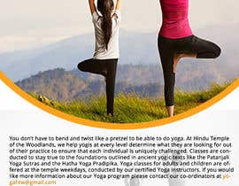 #53 for Yoga Classes Flyer by arijitnandi226