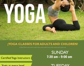 #42 for Yoga Classes Flyer by MyleeDesign