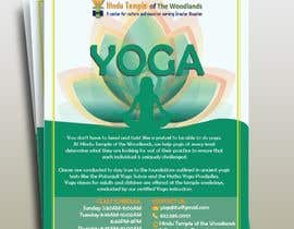#43 for Yoga Classes Flyer by KFleuridas