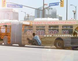 #87 for Tile Shoppe Bus Wrap af tvorex