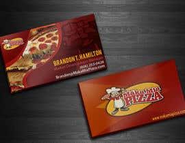 nº 17 pour Design some Business Cards for Maka Mia Pizza par acelobos9