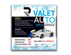 #11 for Design an Advertisement - Valet Auto Wash Service by raciumihaela