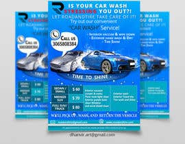 #15 for Design an Advertisement - Valet Auto Wash Service by DhanvirArt