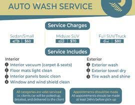 #10 for Design an Advertisement - Valet Auto Wash Service by TH1511