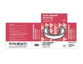 #10 para Packaging and Insert Design for Snoring Mouthguard de nirajmangukiya