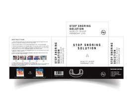#22 para Packaging and Insert Design for Snoring Mouthguard de nirajmangukiya