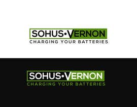 #4 for I need a logo designed.   With box around the below :   SOHUS•VERNON  charging your batteries  Coulours white / green / greys  High quality   Clear back ground in all formats to be supplied by NeriDesign