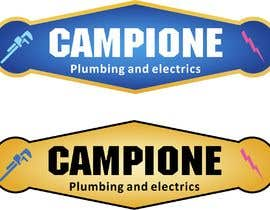 #21 for Logo for my business Campione Plumbing and electrics af evillegas04