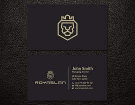 #17 for Business card design for a luxurious business development company by patitbiswas