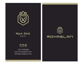 #66 for Business card design for a luxurious business development company by DelwarSujon
