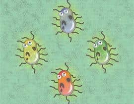 #55 para Design a simple bacteria for an android game por era67