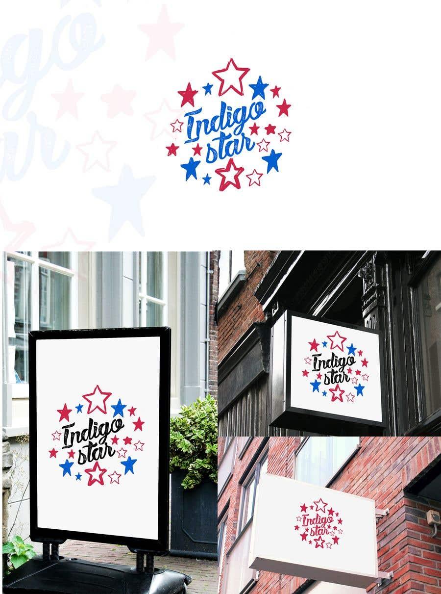Penyertaan Peraduan #107 untuk Design a Logo for Indigo Star - handmade jewellery