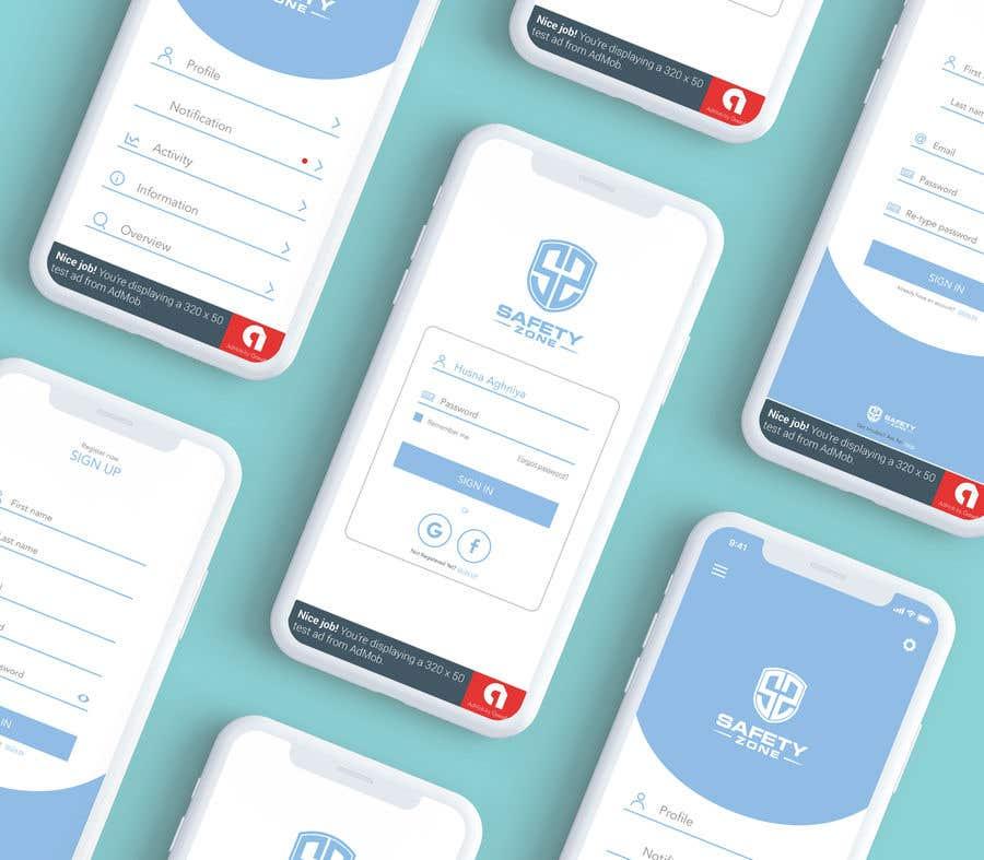 Entry #13 by husnaghniya for APP UI Design Android/Ios