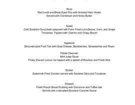 #9 para Design a 7-Course Tasting Menu por jpog196423
