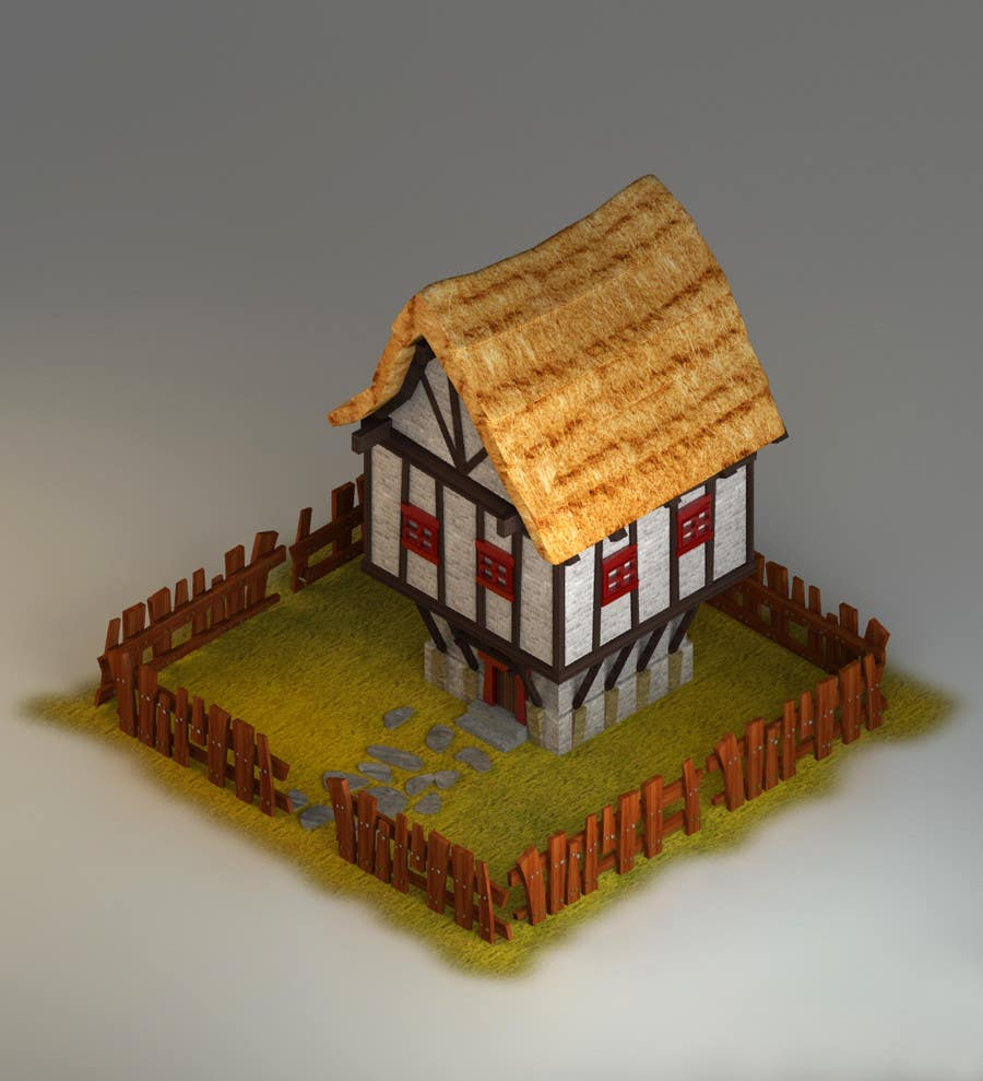 Contest Entry #11 for 50 isometric building designs for iPhone/Android city building game