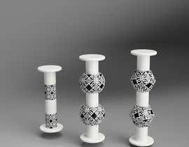 nº 13 pour Design candleholders in 3D par gayatry