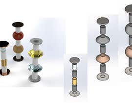 #3 for Design candleholders in 3D by PureMechatronics