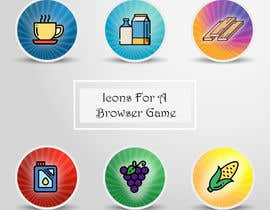 #152 for Icons for a Browser Game af nirajmangukiya