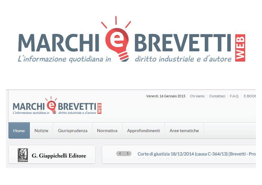 Penyertaan Peraduan #                                        74                                      untuk                                         Restyling logo Marchi e Brevetti web
