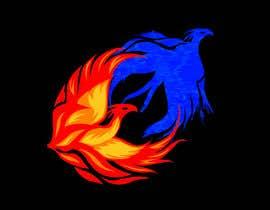 #9 para Fire and Water Phoenix Logo por armohamed