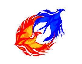 #11 para Fire and Water Phoenix Logo por armohamed