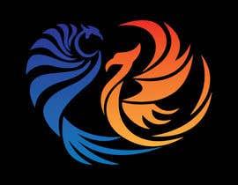 #5 para Fire and Water Phoenix Logo por dewannasiruddin