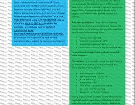#39 for product data sheet af Mostapha7